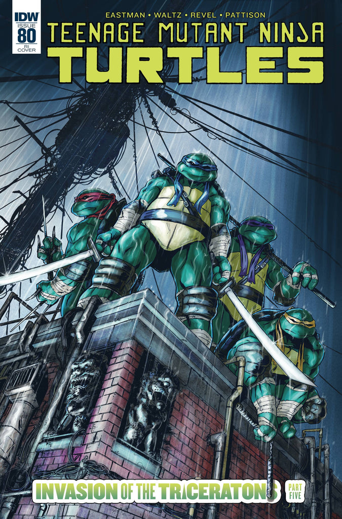Teenage Mutant Ninja Turtles #80 1/10 Tadd Galusha Variant