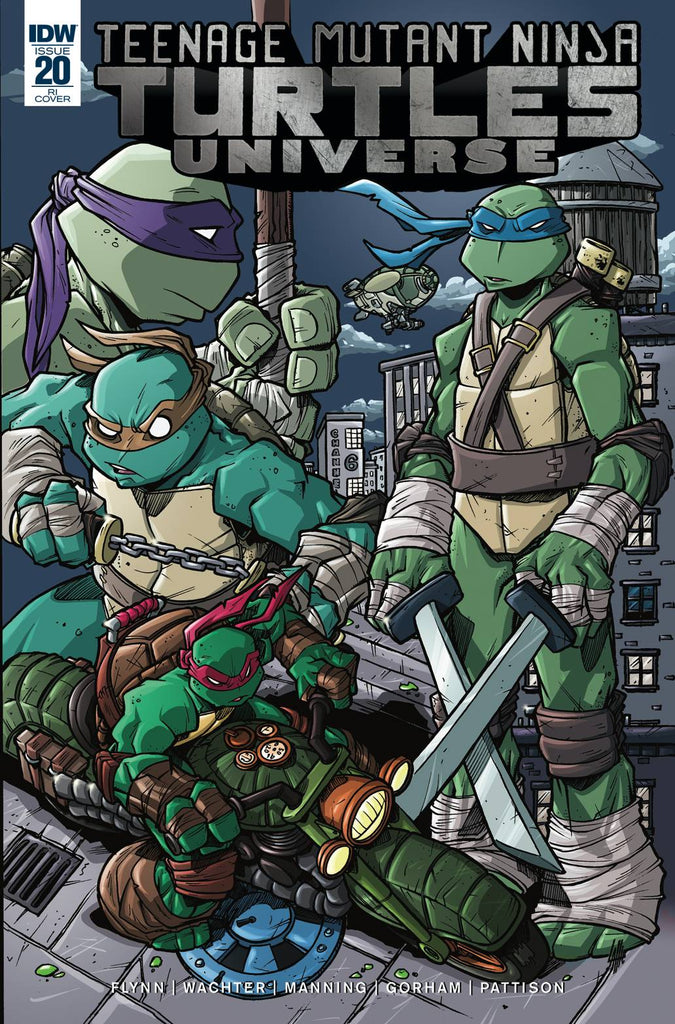 Teenage Mutant Ninja Turtles Universe #20 1/10 Tim Lattie Variant