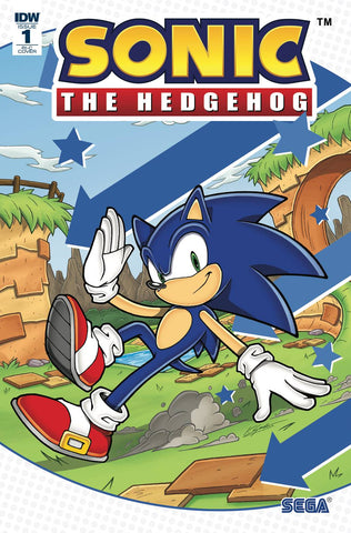 Sonic The Hedgehog #1 1/100 Kieran Gates Variant