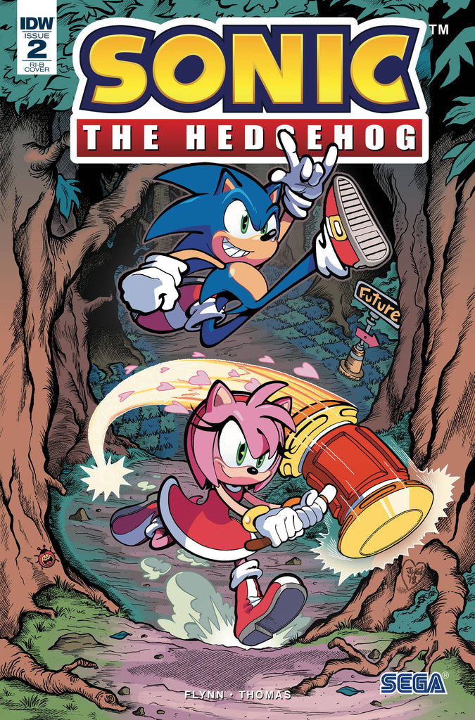 Sonic The Hedgehog #2 1/25 Jonathan Gray Variant