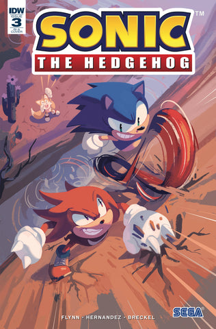 Sonic The Hedgehog #3 1/10 Nathalie Fourdraine Variant