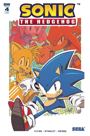 Sonic The Hedgehog #4 1/25 Tyson Hesse Variant