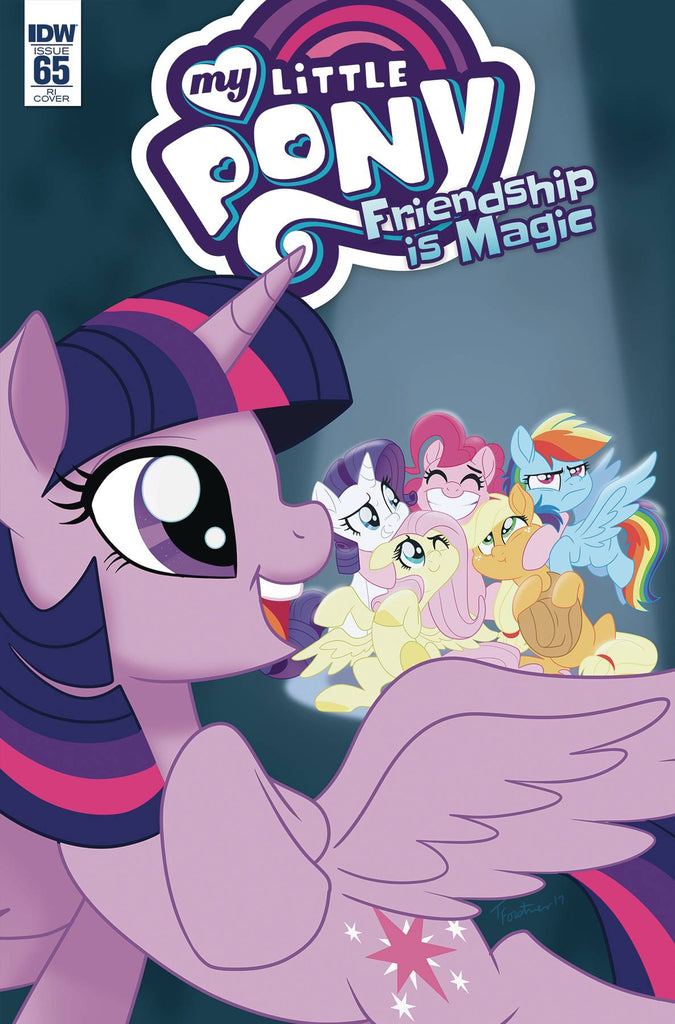 My Little Pony Friendship Is Magic #65 1/10 Trish Forstner Variant