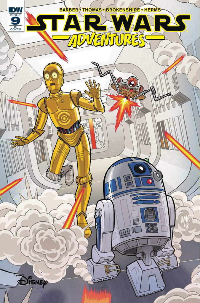 Star Wars Adventures #9 1/10 Tony Fleecs Droids Variant