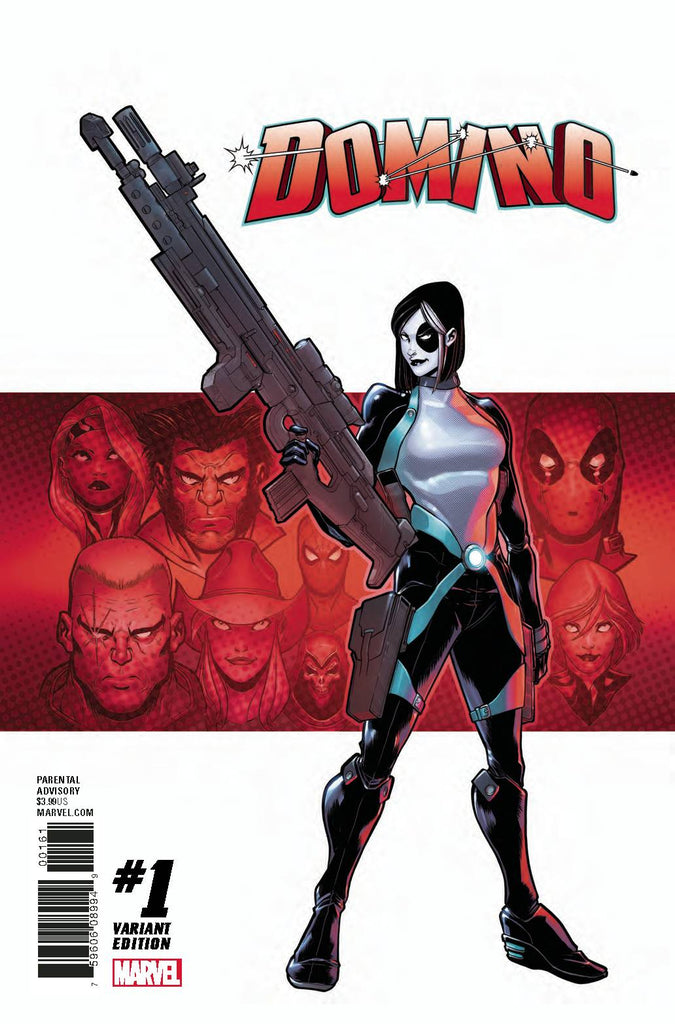 Domino #1 1/25 David Baldeon Variant