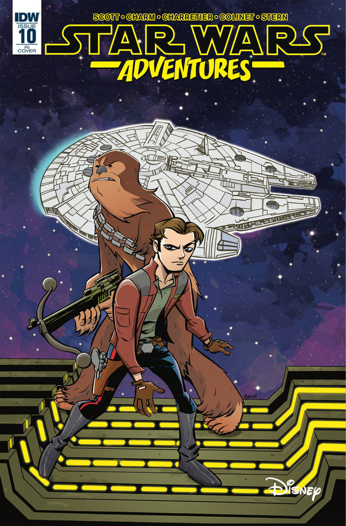 Star Wars Adventures #10 1/10 Michael Avon Oeming Solo Variant