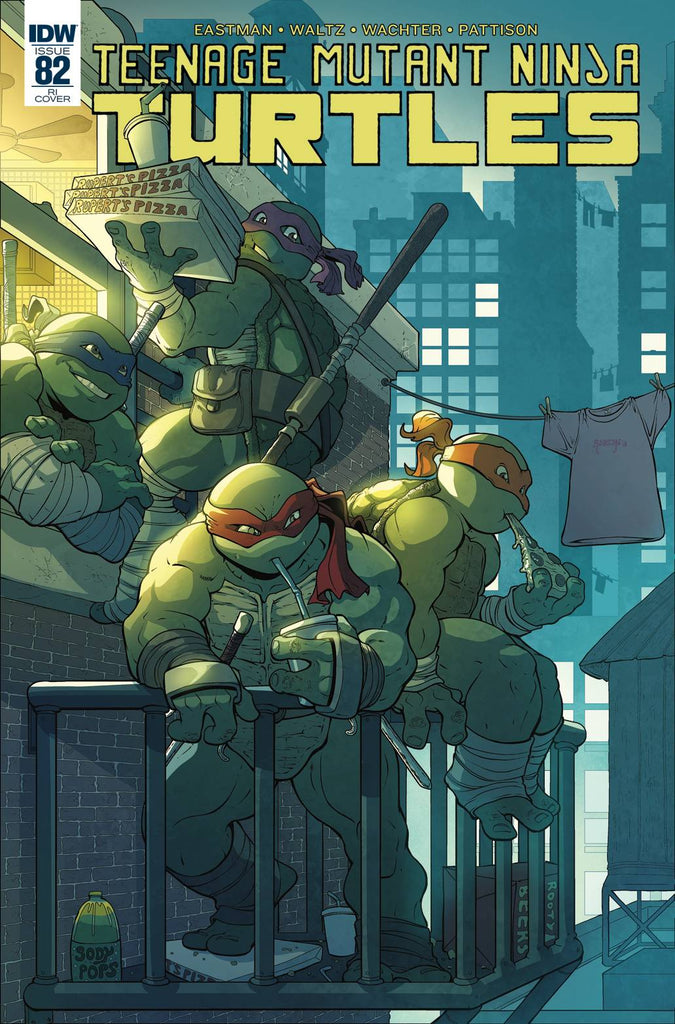 Teenage Mutant Ninja Turtles #82 1/10 Will Robson Variant