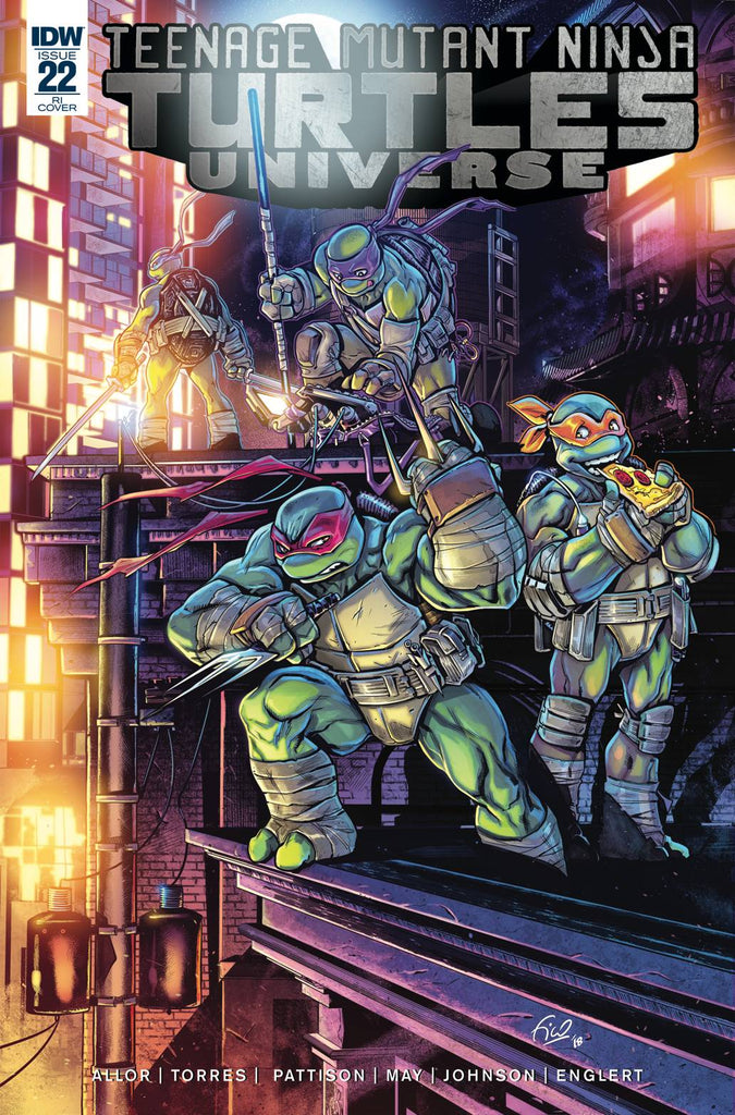 Teenage Mutant Ninja Turtles Universe #22 1/10 Fico Ossio Variant