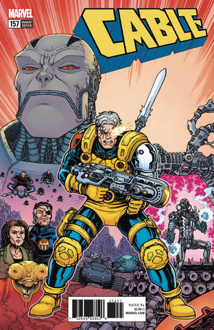Cable #157 1/25 Chris Burnham Variant