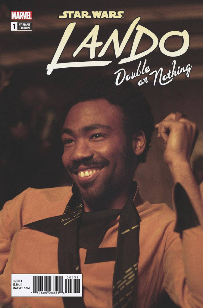 Star Wars Lando Double Or Nothing #1 1/10 Donald Glover Movie Photo Variant A