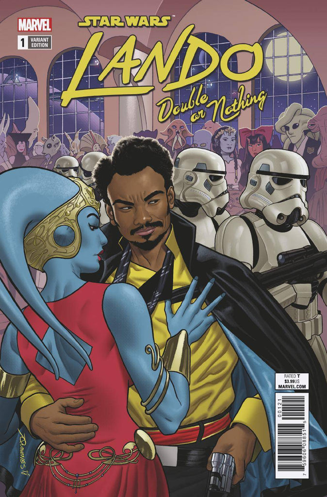 Star Wars Lando Double Or Nothing #1 1/25 Joe Quinones Variant