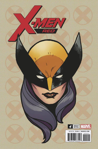 X-Men Red #4 1/10 Travis Charest All-New Wolverine Headshot Variant