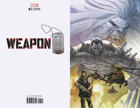 Weapon H #1 1/100 Leinil Francis Yu Virgin Art Variant