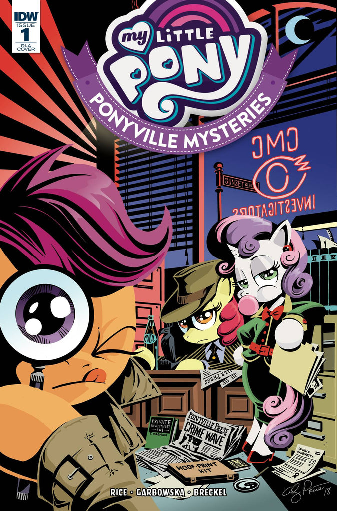 My Little Pony Ponyville Mysteries #1 1/10 Andy Price Variant