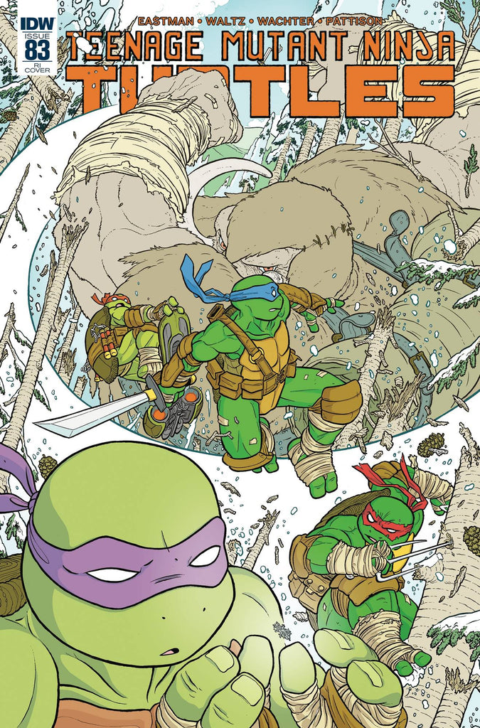 Teenage Mutant Ninja Turtles #83 1/10 Ulises Farinas Variant