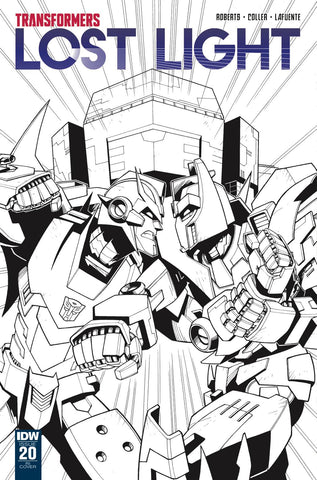 Transformers Lost Light #20 1/10 Jack Lawrence Variant