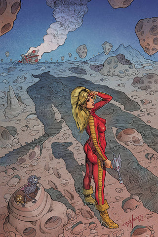Barbarella #7 1/30 Giovanni Timpano Virgin Art Variant