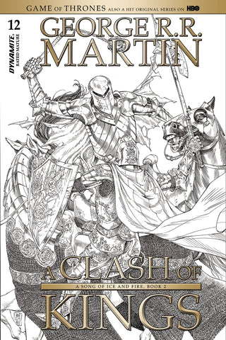 Game Of Thrones A Clash Of Kings #12 1/10 Sketch Variant