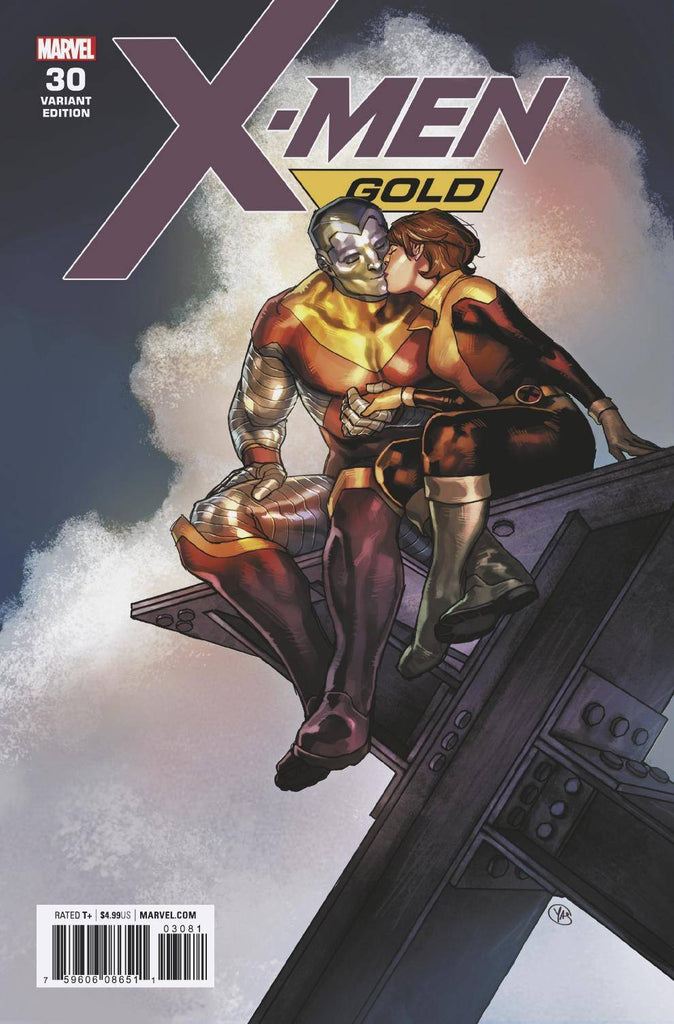 X-Men Gold #30 1/50 Yasmine Putri Kitty Pryde & Colossus Variant