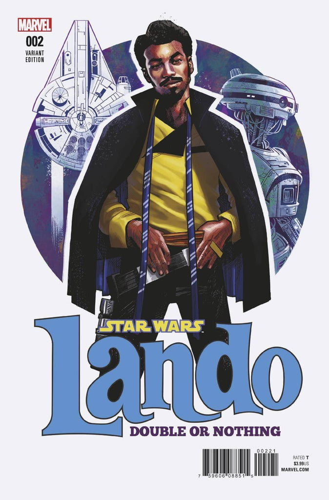 Star Wars Lando Double Or Nothing #2 1/25 Cameron Stewart Variant