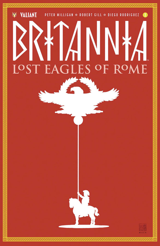Britannia Lost Eagles of Rome #1 1/20 David Mack Variant