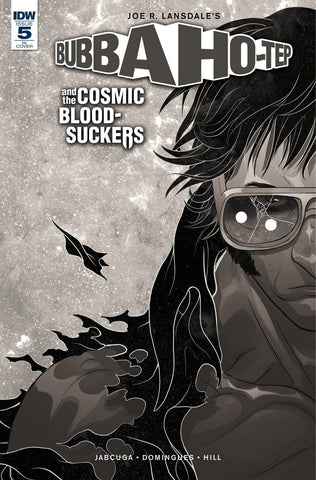 Bubba Ho-Tep & the Cosmic Blood-Suckers #5 1/5 Baldemar Rivas Black & White Variant