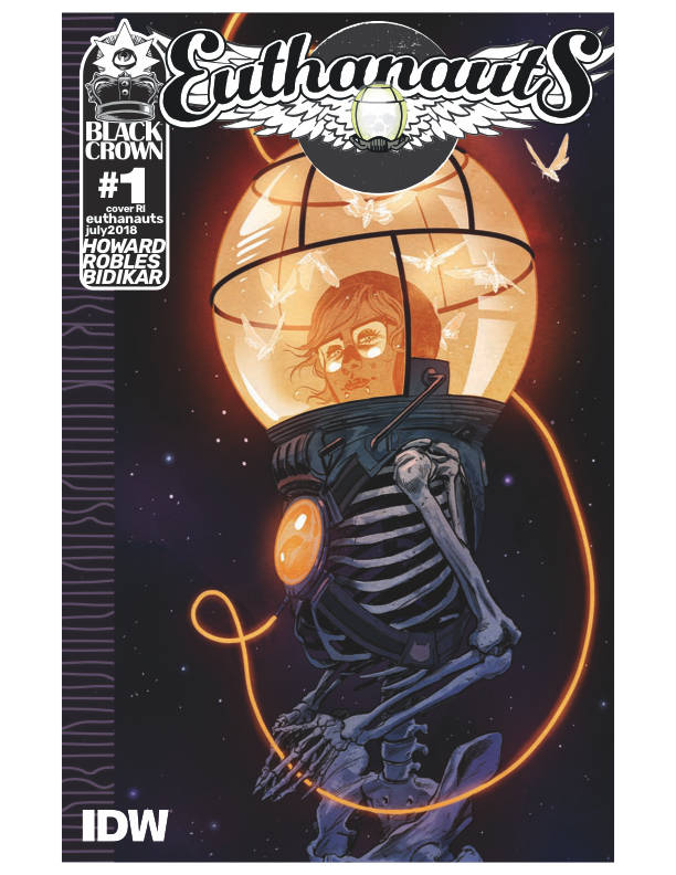 Euthanauts #1 1/10 Nick Robles Silver Foil Variant