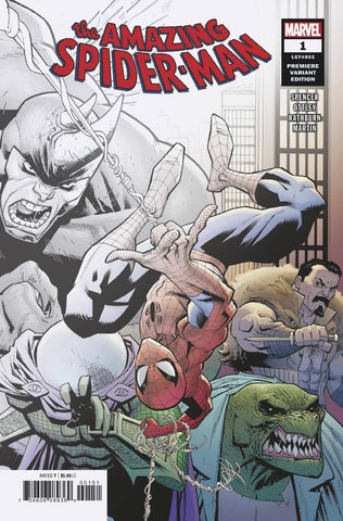 Amazing Spider-Man #1 2 Copies Per Store Ryan Ottley Premiere Variant