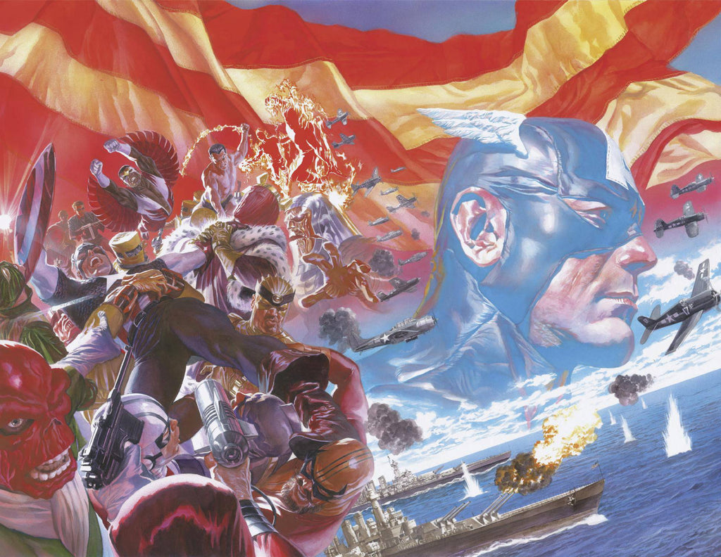Captain America #1 1/100 Alex Ross Virgin Art Variant