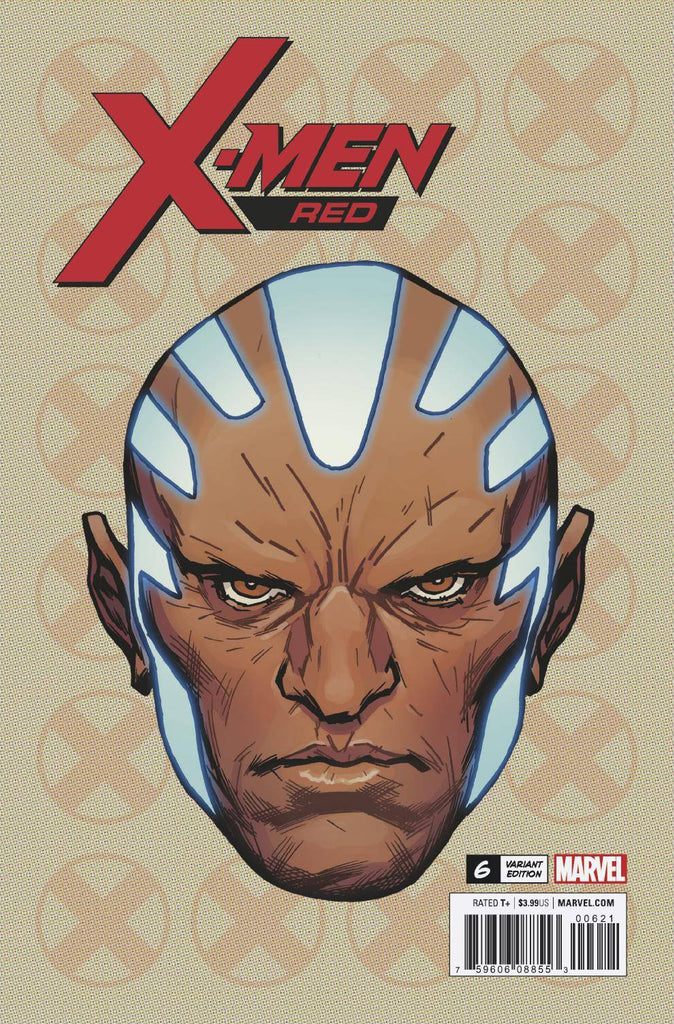 X-Men Red #6 1/10 Travis Charest Gentle Headshot Variant