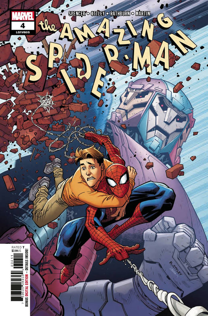 Amazing Spider-Man #4 (Marvel, 2018) - Ryan Ottley - First Printing