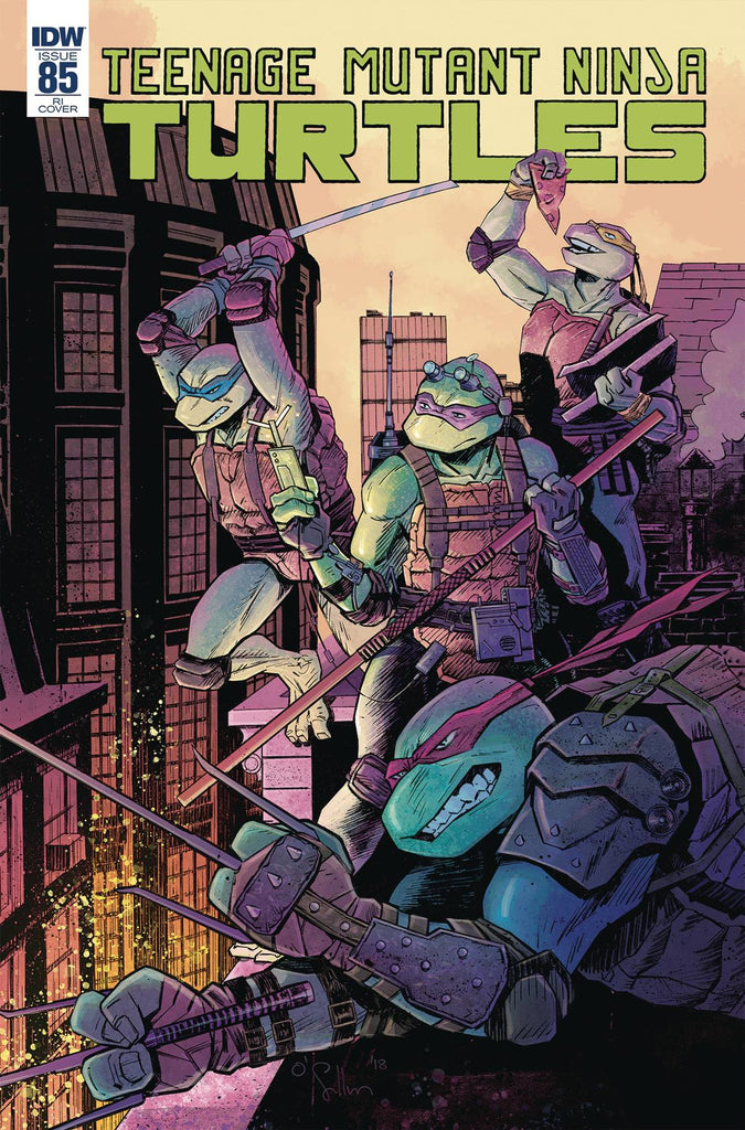 Teenage Mutant Ninja Turtles #85 1/10 David O'Sullivan Variant