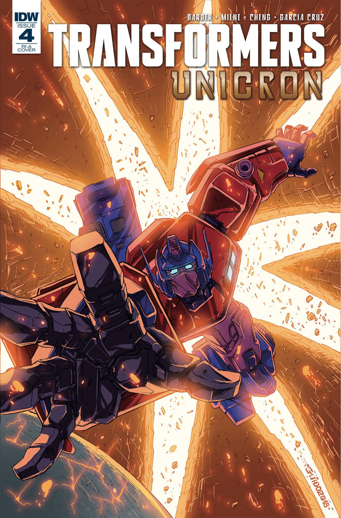 Transformers Unicron #4 1/10 Guido Guidi Variant