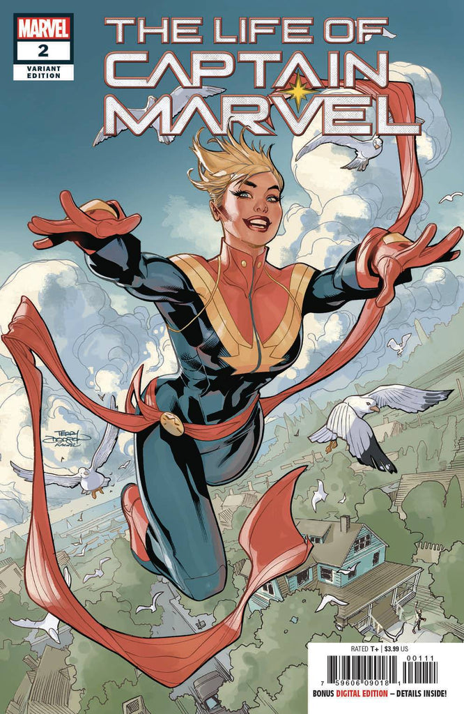 The Life Of Captain Marvel #2 1/25 Terry Dodson Variant
