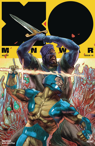 X-O Manowar #19 1/20 Renato Guedes Variant