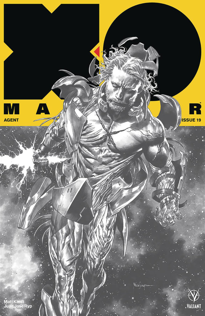 X-O Manowar #19 1/50 Mico Suayan 75th Issue Variant