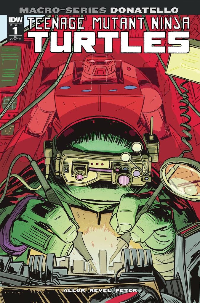 Teenage Mutant Ninja Turtles Macro-Series Donatello #1 1/10 Brahm Revel Variant