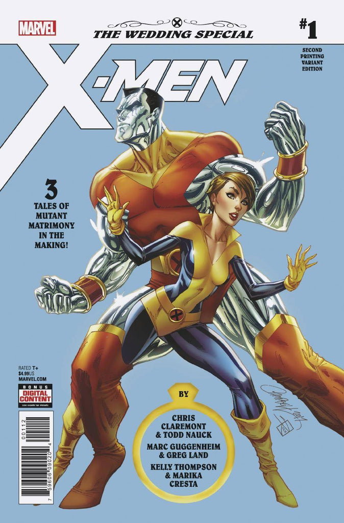 X-Men: the Wedding Special (Vol 1 2018) #1 2nd print