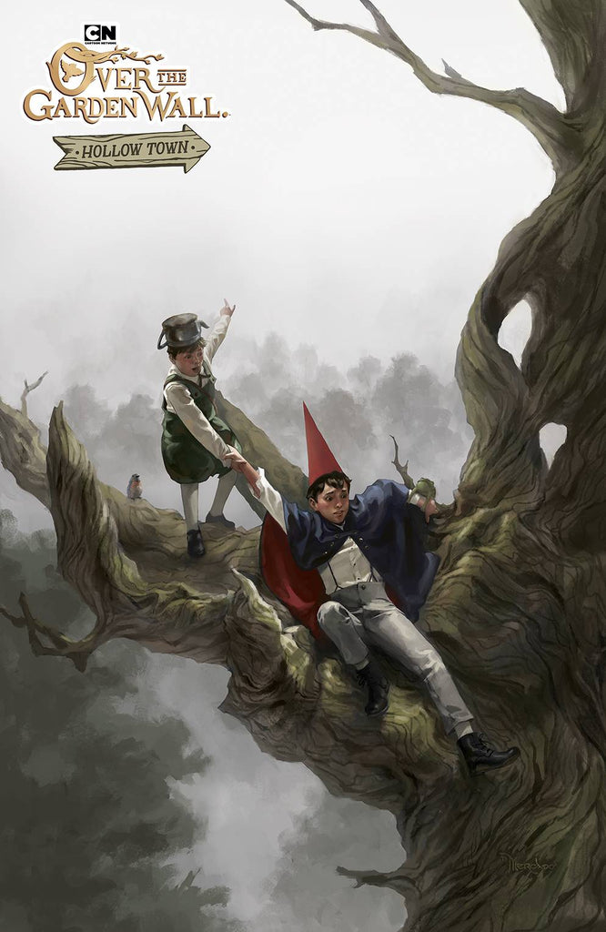 Over The Garden Wall Hollow Town #1 1/10 Miguel Mercado Variant