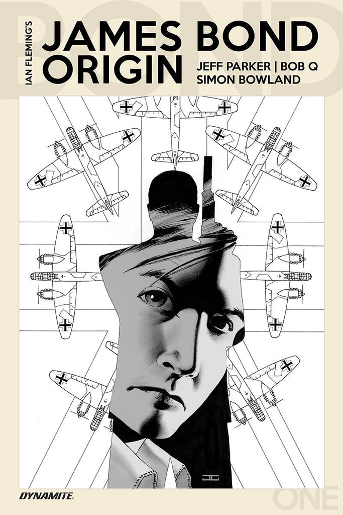 James Bond Origin #1 1/10 John Cassaday Black & White Variant