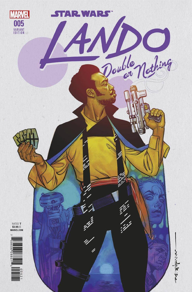 Star Wars Lando Double Or Nothing #5 1/25 Brian Stelfreeze Variant