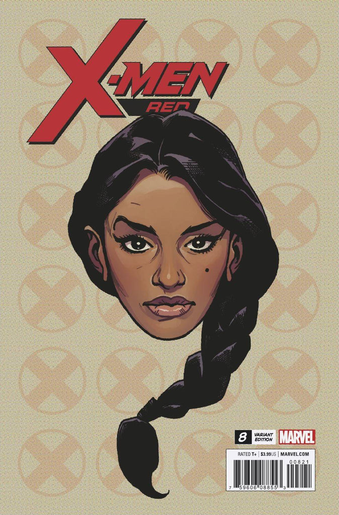 X-Men Red #8 1/10 Travis Charest Trinary Headshot Variant