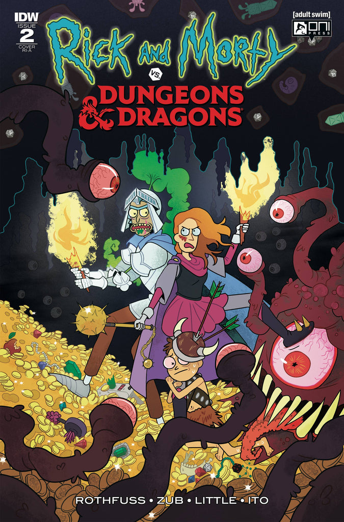 Rick & Morty vs Dungeons & Dragons #2 1/10 Julia Scott Variant