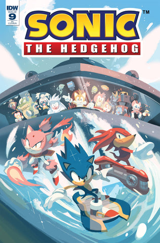 Sonic The Hedgehog #9 1/10 Nathalie Foudraine Variant