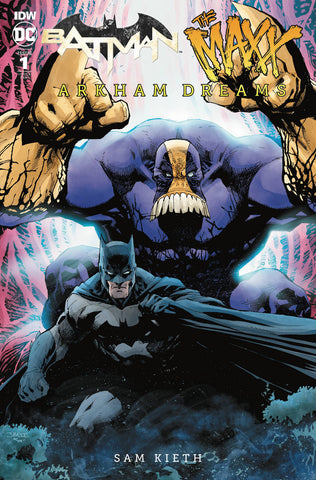 Batman The Maxx Arkham Dreams #1 1/25 Jim Lee Variant