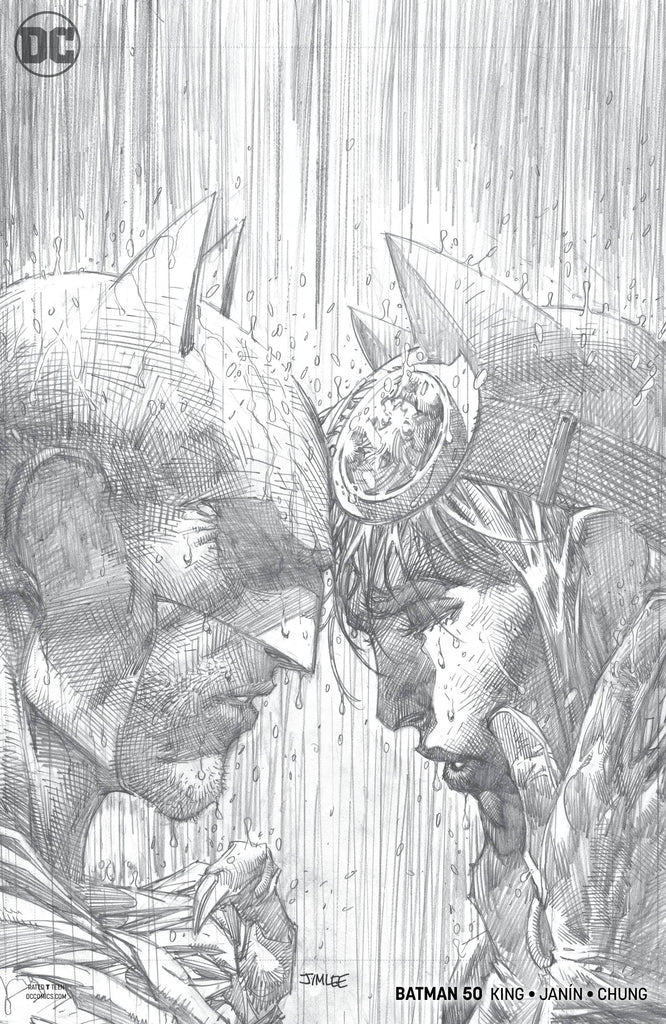 Batman #50 1/100 Jim Lee Sketch Variant