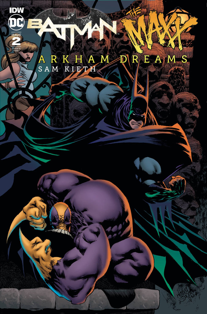 Batman The Maxx Arkham Dreams #2 1/10 Kelly Jones Variant