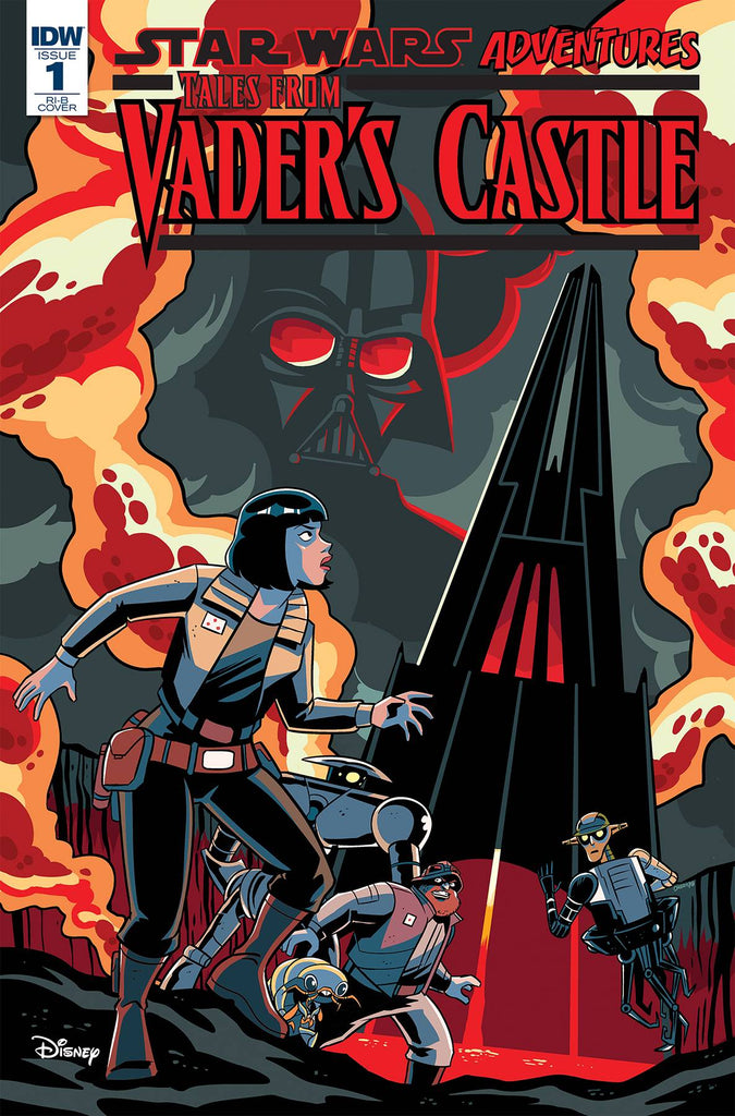 Star Wars Adventures Tales From Vader's Castle #1 1/100 Derek Charm Variant