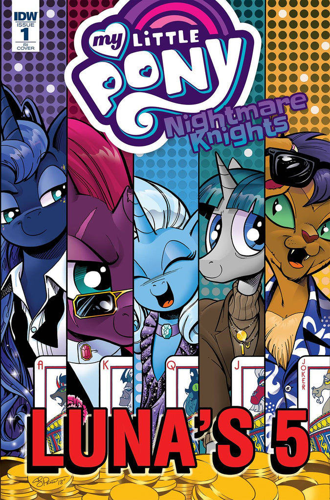 My Little Pony Nightmare Knights #1 1/10 Andy Price Variant