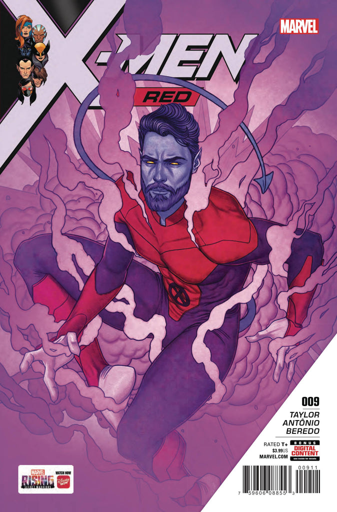 X-Men Red (Vol 1 2018) #9 CVR A